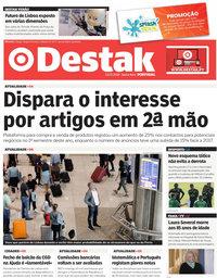 capa Jornal Destak de 13 julho 2018