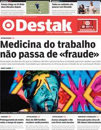 capa Jornal Destak de 16 julho 2018
