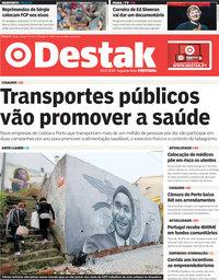 capa Jornal Destak de 23 julho 2018
