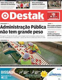 capa Jornal Destak de 24 julho 2018