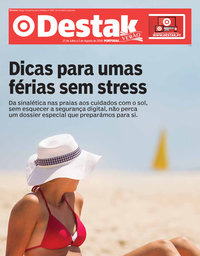 capa Jornal Destak de 27 julho 2018