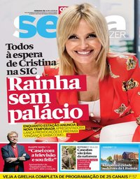 capa Revista Sexta de 14 setembro 2018