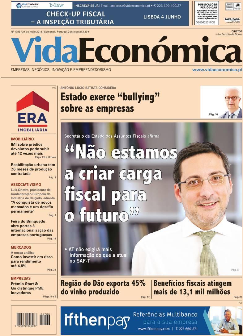 capa Jornal Vida Económica
