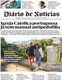 capa Diário de Notícias de 20 outubro 2018