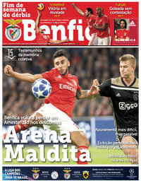 capa Jornal Benfica de 26 outubro 2018