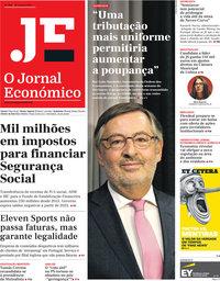 capa Jornal Económico de 26 outubro 2018