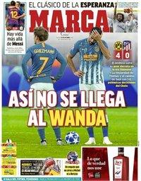 capa Jornal Marca de 25 outubro 2018