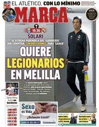 capa Jornal Marca de 31 outubro 2018