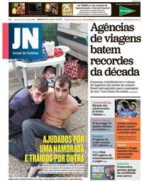 capa Jornal de Notícias de 20 outubro 2018