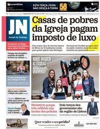 capa Jornal de Notícias de 22 outubro 2018