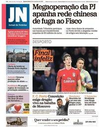 capa Jornal de Notícias de 24 outubro 2018