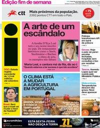 capa Jornal i de 26 outubro 2018