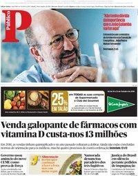 capa Público de 20 outubro 2018