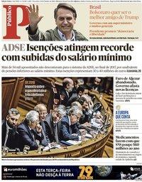 capa Público de 30 outubro 2018