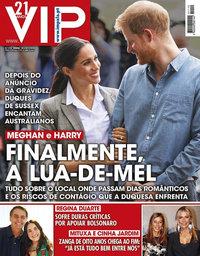 capa VIP de 22 outubro 2018