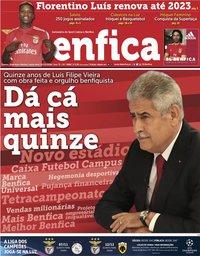 capa Jornal Benfica de 2 novembro 2018