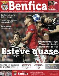capa Jornal Benfica de 9 novembro 2018