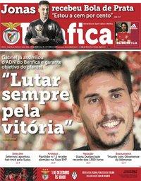 capa Jornal Benfica de 23 novembro 2018