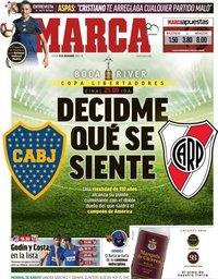 capa Jornal Marca de 10 novembro 2018