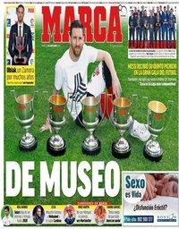 capa Jornal Marca de 13 novembro 2018