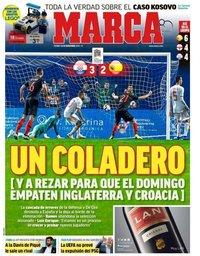 capa Jornal Marca de 16 novembro 2018