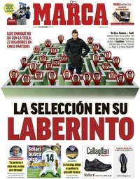 capa Jornal Marca de 17 novembro 2018
