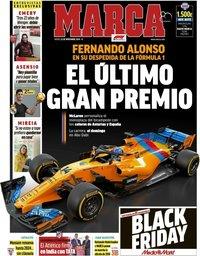 capa Jornal Marca de 22 novembro 2018