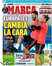capa Jornal Marca de 27 novembro 2018