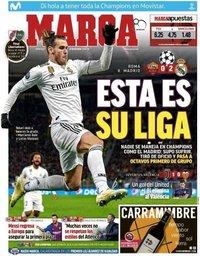 capa Jornal Marca de 28 novembro 2018