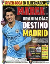 capa Jornal Marca de 30 novembro 2018
