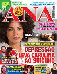 capa Revista Ana de 5 novembro 2018