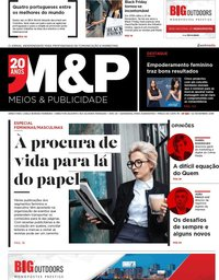 capa Revista Meios e Publicidade de 2 novembro 2018