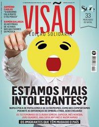 capa Visão de 28 novembro 2018