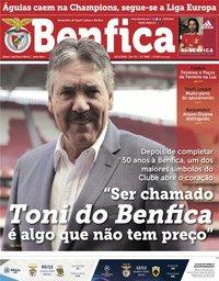 capa Jornal Benfica de 30 novembro 2018