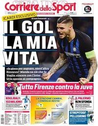 capa Corriere dello Sport de 1 dezembro 2018