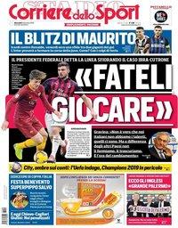 capa Corriere dello Sport de 5 dezembro 2018