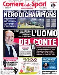 capa Corriere dello Sport de 13 dezembro 2018