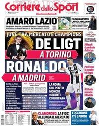 capa Corriere dello Sport de 18 dezembro 2018