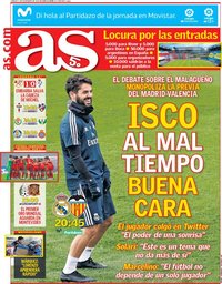 capa Jornal As de 1 dezembro 2018