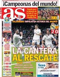 capa Jornal As de 2 dezembro 2018