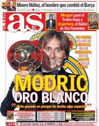 capa Jornal As de 4 dezembro 2018