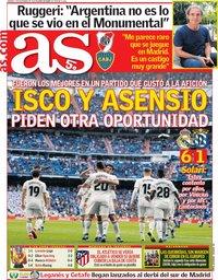 capa Jornal As de 7 dezembro 2018