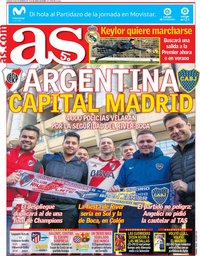 capa Jornal As de 8 dezembro 2018