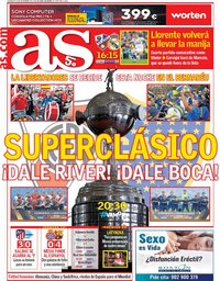 capa Jornal As de 9 dezembro 2018