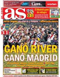 capa Jornal As de 10 dezembro 2018