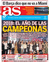 capa Jornal As de 11 dezembro 2018