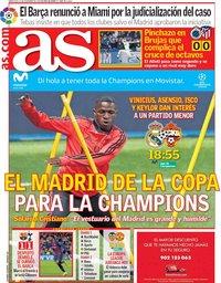 capa Jornal As de 12 dezembro 2018