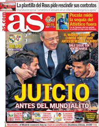 capa Jornal As de 15 dezembro 2018