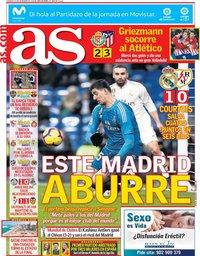 capa Jornal As de 16 dezembro 2018