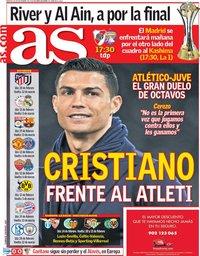 capa Jornal As de 18 dezembro 2018
